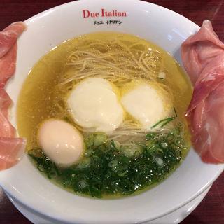 生ハムフロマージュ(黄金の塩らぁ麺 ドゥエイタリアン)