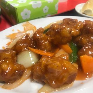 酢豚定食(中国家庭料理大連 (チュウゴクカテイリョウリダイレン))