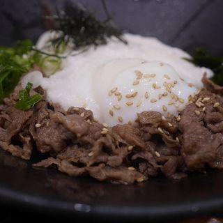 肉とろろぶっかけ(千舟屋)