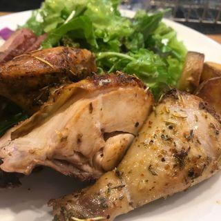クォーターチキンと合鴨のグリル(ファーマーズチキン (Farmer's Chicken))