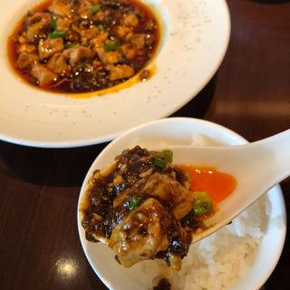 スパイシー麻婆豆腐セット(ジョーズシャンハイニューヨーク グランフロント大阪店)