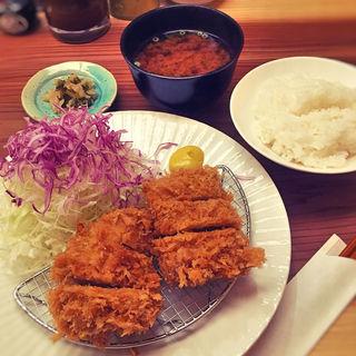 ヒレカツ定食(とんかつのポーク凡平)