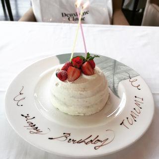 バースデーケーキ(ボタニカ )