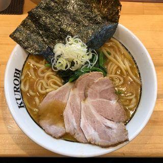 ラーメン(横浜家系ラーメン 黒帯 )
