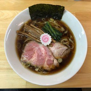 醤油ラーメン(らぁ麺 はんにゃ)