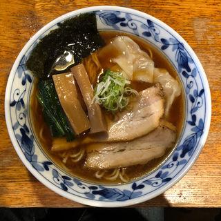 支那そば わんたん入り(麺家 喜多楽 (めんや きたら))