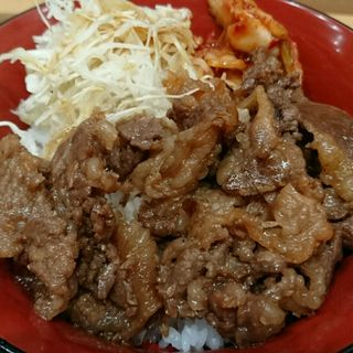 タレ焼肉丼(スナックパーク)