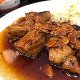 トンテキ定食(東京厨房 千駄ヶ谷店 )