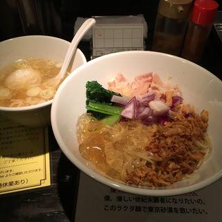 冷やし油そば(塩生姜らー麺専門店 マニッシュ (塩生姜らー麺専門店 MANNISH))