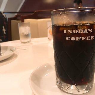 アイスコーヒー(イノダコーヒー本店)