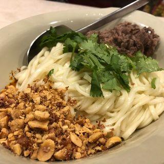 汁無し坦々麺(モンゴリアン・チャイニーズ BAO)