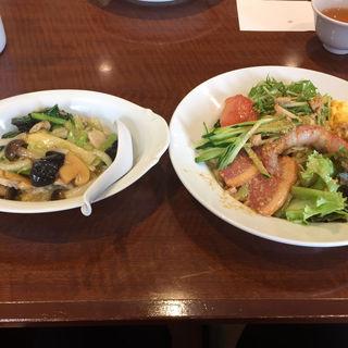 冷麺とミニ中華丼(小燕京 (ショウエンキン))