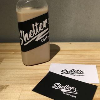ホワイトブリューコーヒー(シェルター コーヒースタンド (SHELTER coffee stand) )