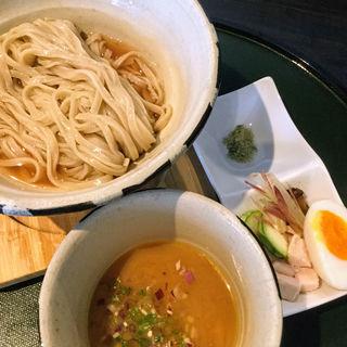 のりさんトマト水と甘海老の冷やしつけ麺(ORiBE)
