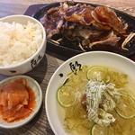 A5焼肉定食 & 二郎冷麺