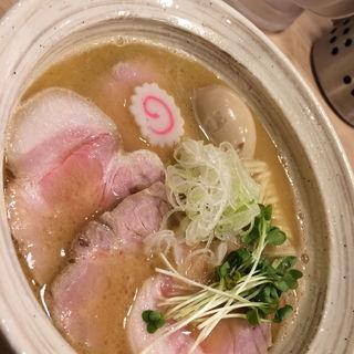 特選魚介そば 醤油(MENYA BIBIRI)