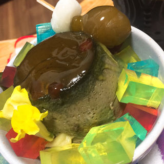 抹茶プリン紫陽花したて(レニエ・グランメゾン )