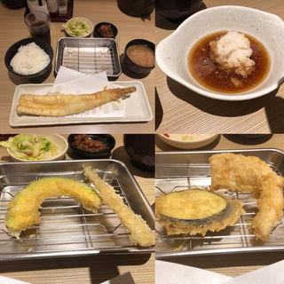 大穴子定食(博多天ぷら たかお ジョイナス横浜店 )