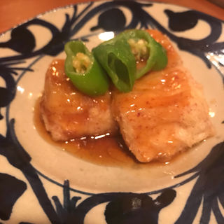 ジーマミー豆腐の揚げ出し(榮料理店 (栄料理店))