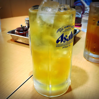緑茶割り(支那そば 勝丸 (しなそば・かつまる))