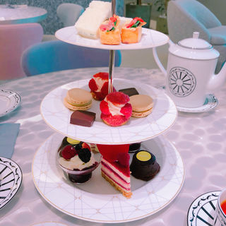 Afternoon tea(Cafe'Dior by Pierre Herme')