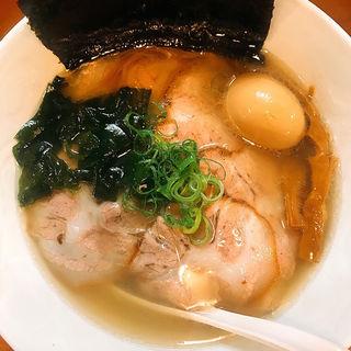 塩らぁ麺(中)(らぁ麺むらまさ )