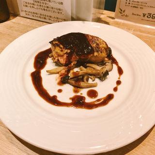 フォアグラステーキ 赤ワイン味噌ソース(赤白 新大阪店 (コウハク))