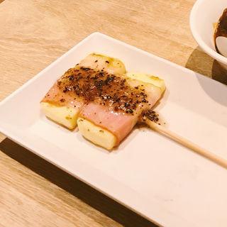 チーズベーコン巻き トリュフソース(赤白 新大阪店 (コウハク))