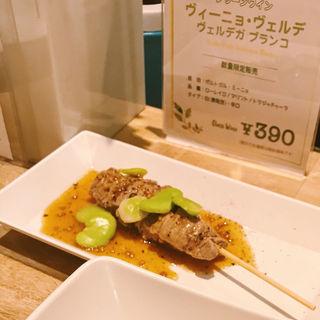 フレンチおでん 牛フィレ肉 そら豆添え ハニーソイソース(赤白 新大阪店 (コウハク))