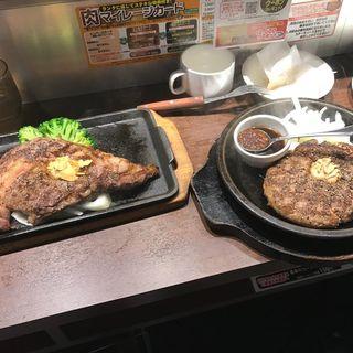 ワイルドハンバーグ(いきなりステーキ 東京八重洲地下街店 )