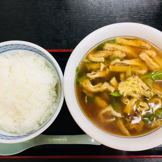 あんかけたぬきうどん京都風(大阪屋 (おおさかや))