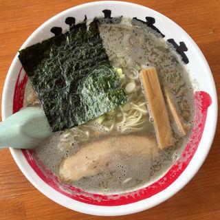 かえり煮干そば 塩(竹本商店 煮干センター アジト )