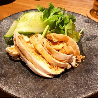 ヨダレ鶏(酒場トやさいイソスタンド)