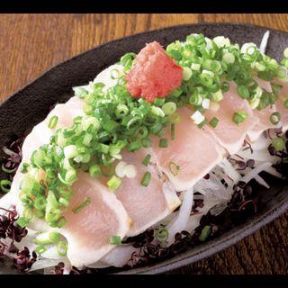 胸肉たたきポン酢(人形町 花 )