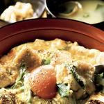 京味親子丼(昼は味噌汁、香の物付き)