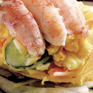 毛蟹サラダ(三ぶん )