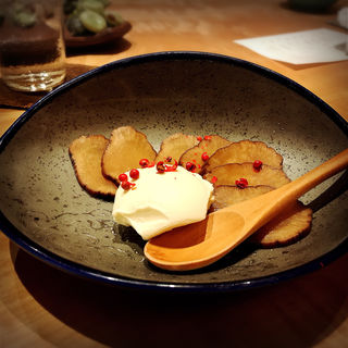 いぶりがっこマスカルポーネチーズ(そま莉 (ソマリ))