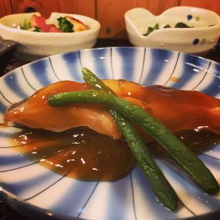 カレイの煮付(日替わり定食)