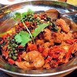 四川麻辣焼鶏鍋