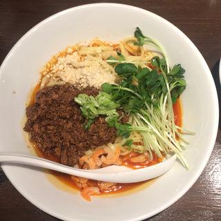 日式汁なし担々麺(六坊担担面)
