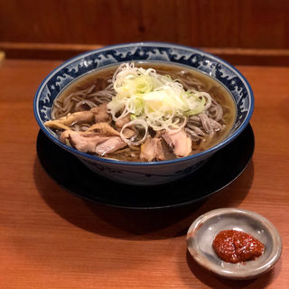 冷たい肉そば(烈火 本店)