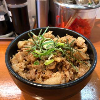 豚めし(とんこつラーメン博)