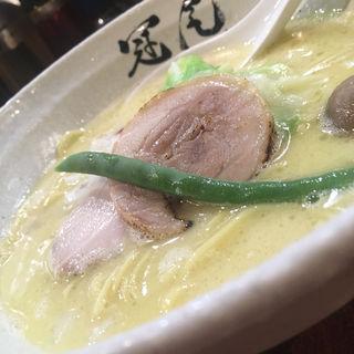 鶏白湯らぁめん(らぁめん冠尾)