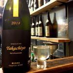 Takachiyo 59 CHAPTER SEVEN OMACHI 純米吟醸生原酒(焼鳥はなび)
