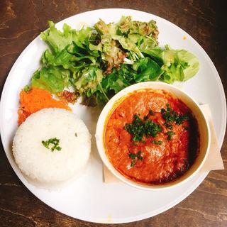 ひよこ豆のバターチキンカレー(アナログ カフェ ラウンジ トーキョー (ANALOG CAFE/LOUNGETOKYO))