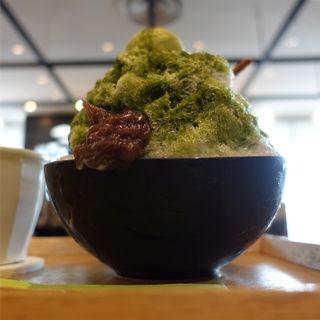 然の氷(茶庭 然花抄院 渋谷ヒカリエ ShinQs店 (ぜんかしょういん))