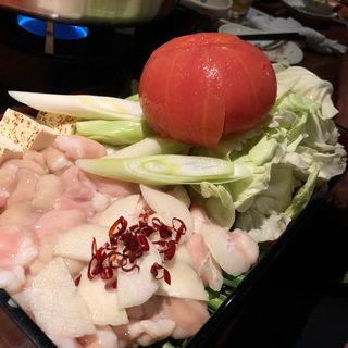 トマトもつ鍋(SHIRA鶏 (シラトリ))