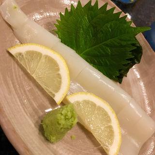 ヤリイカ刺(キッチンしゃもじ)