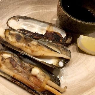 あげまき貝焼(キッチンしゃもじ)