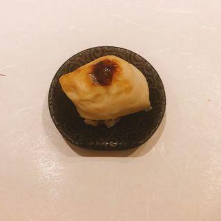焼き白子の握り(鮨 青海)